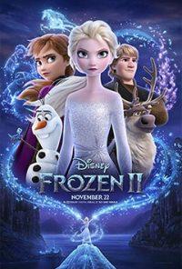 انیمیشن frozen 2 محصول کمپانی Walt Disney Animation Studios قرار است در تاریخ 22 نوامبر به روی پرده ی سینما برود. از جمله بازیگران و صداپیشگان این انیمیشن میتوان به Idina Menzel در نقش اِلسا و Jonathan Groff در نقش کریستوف اشاره کرد.