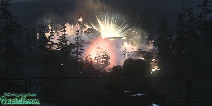 انفجارها و لحظات تکه تکه شدن ادوات جنگی بسیار زیبا و پر جزئیات است.