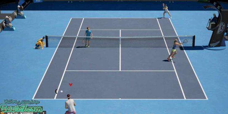مورد انتظارترین بازیهای سال 2020 ( بازی AO Tennis 2)