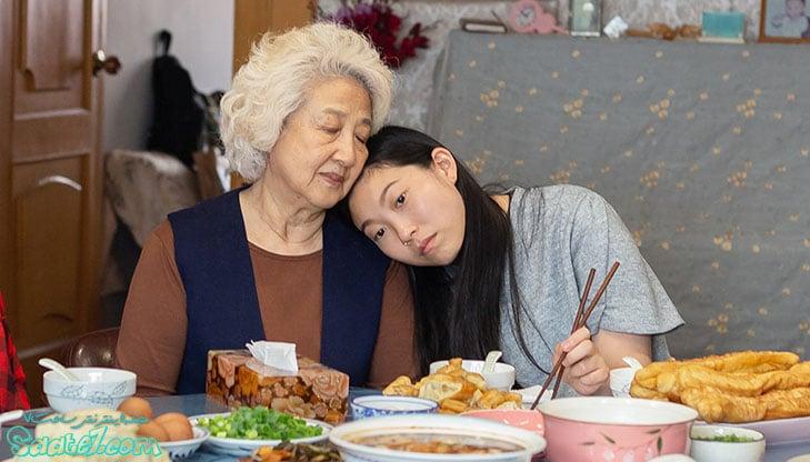 بیلی به همراه نای نای در فیلم وداع 2019