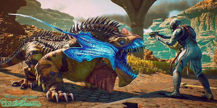 محیط های مختلف بازی The Outer Worlds پر از دشمنان متنوع است