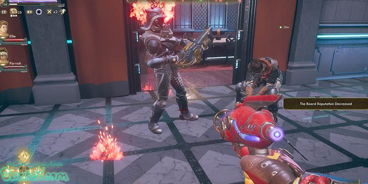 گیم پلی بازی The Outer Worlds از بخش های مختلفی تقسیم شده است