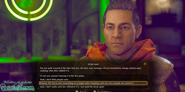 در بازی The Outer Worlds یک سیستم دیالوگ جذاب وجود دارد...