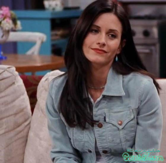 مونیکا گلر در سریال Friends