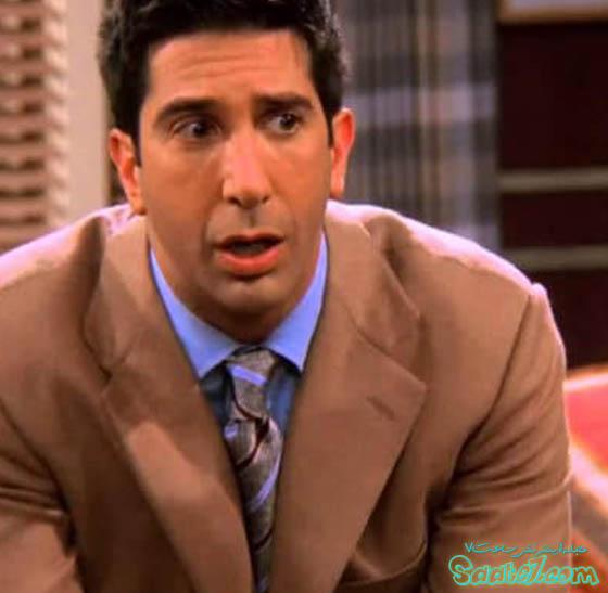 راس گلر در سریال Friends