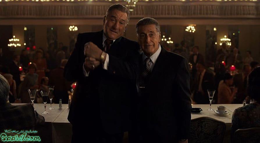 فیلم Irishman اثر اسکورسیزی با بازی رابرت دنیرو و آلپاچینو