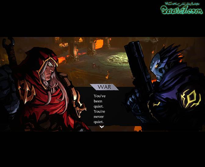 دو شخصیت اصلی بازی Darksiders genesis