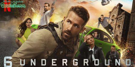 فیلم six underground