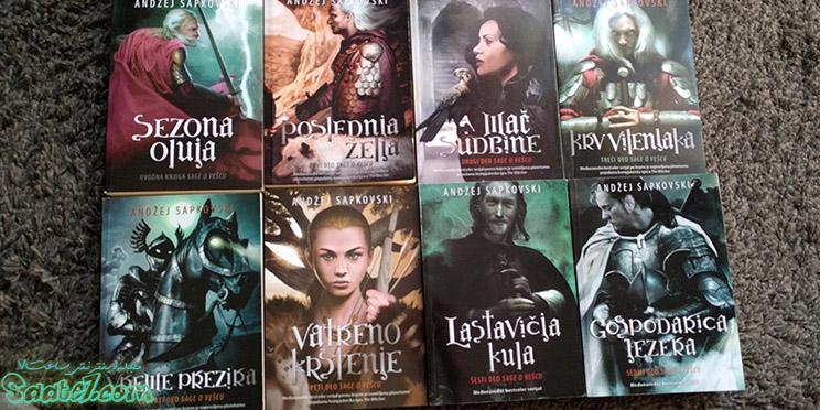 کتابهای سری witcher