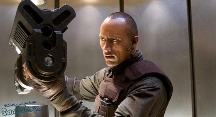 نقش آفرینی جانسون در فیلم Doom