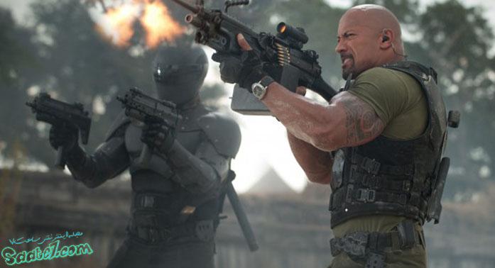 نقش آفرینی جانسون در فیلم G.I. Joe Retaliation