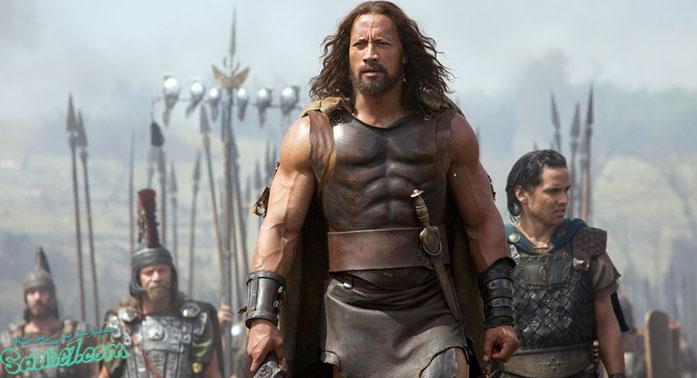 نقش آفرینی جانسون در فیلم Hercules