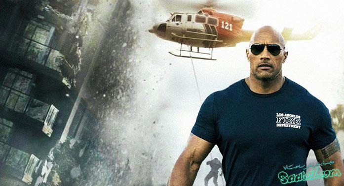 نقش آفرینی جانسون در فیلم San Andreas