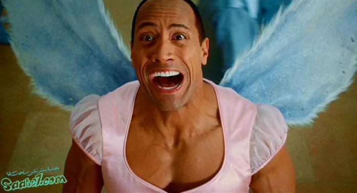نقش آفرینی جانسون در فیلم Tooth Fairy