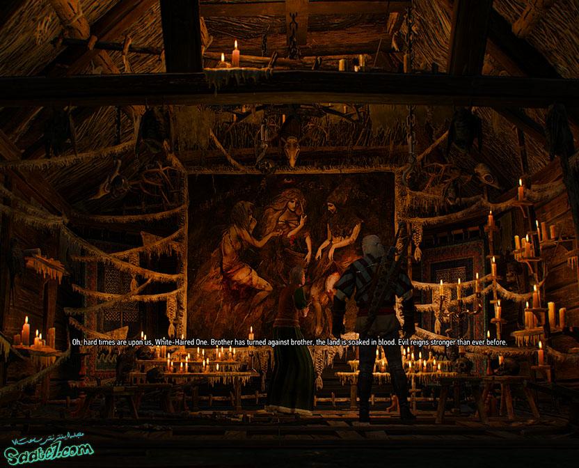 راهنمای The Witcher 3 / مرحله Ladies of the Wood