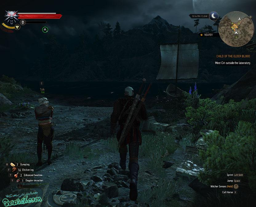 راهنمای The Witcher 3 / مراحل Child of the Elder Blood و Skjall's Grave