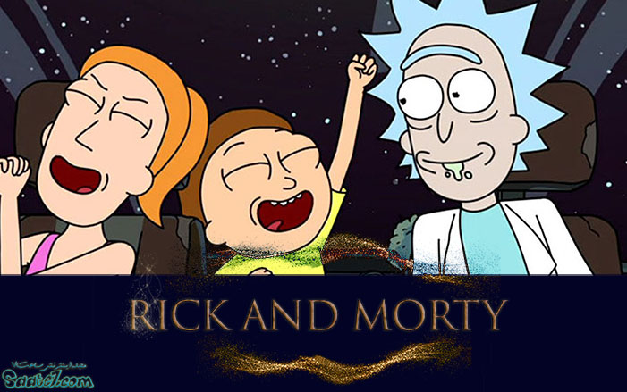 بهترین سریال ها RICK AND MORTY