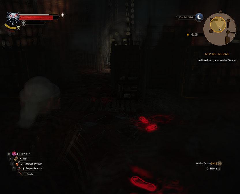 راهنمای The Witcher 3 / مرحله No Place Like Home