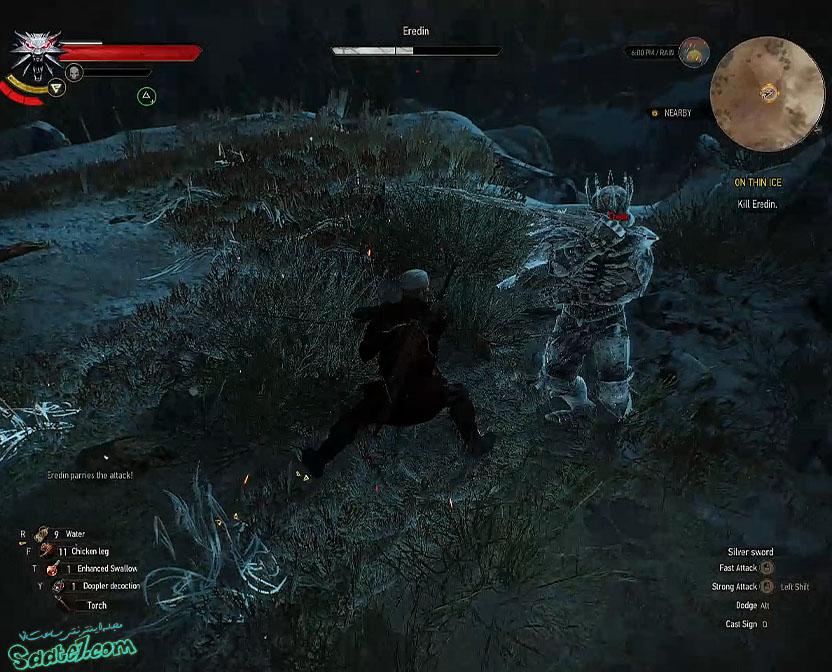راهنمای The Witcher 3 / مرحله On Thin Ice