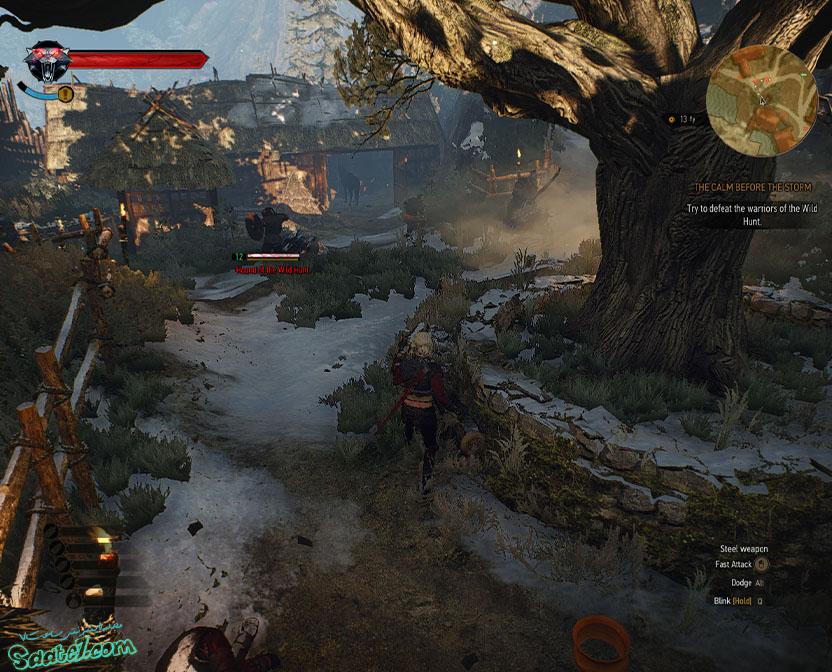 راهنمای The Witcher 3 / مرحله The Calm Before the Storm