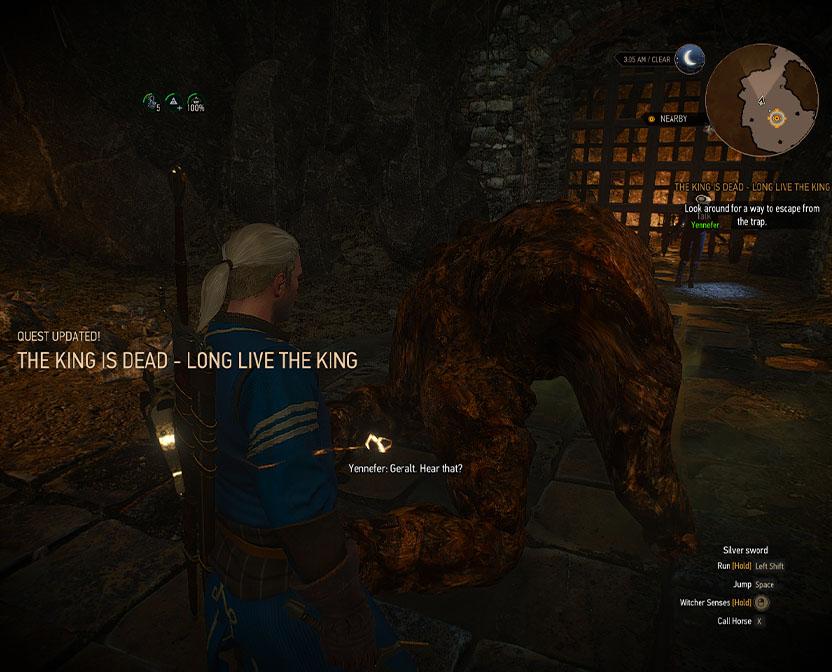 راهنمای The Witcher 3 / مرحله The King is Dead – Long Live the King