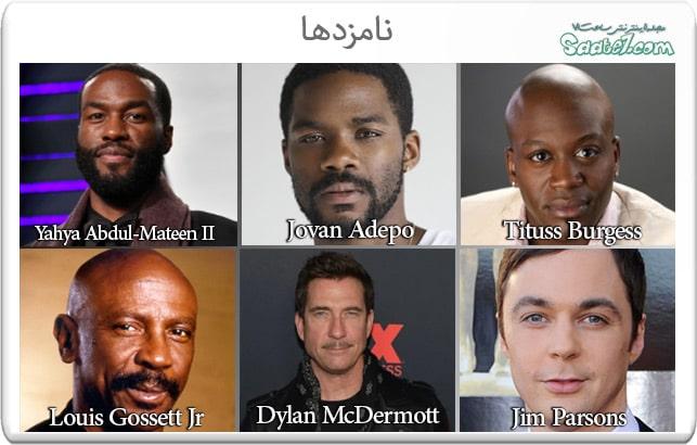 نامزدهای بهترین بازیگر مکمل مرد در مینی سریال یا فیلم تلوزیونی در امی 2020