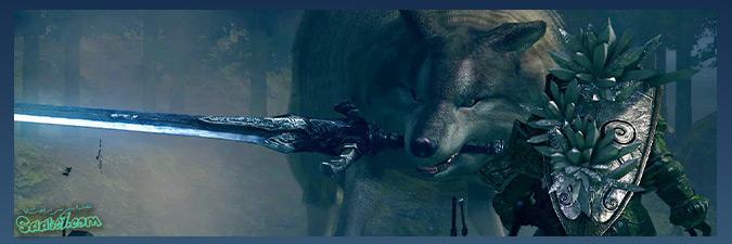 داستان بازی دارک سولز / شخصیت Grey-Wolf-Sif