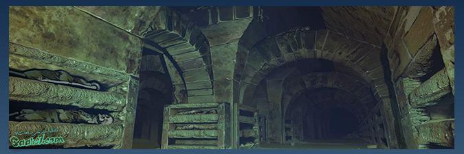 داستان بازی دارک سولز / سرزمین The Catacombs