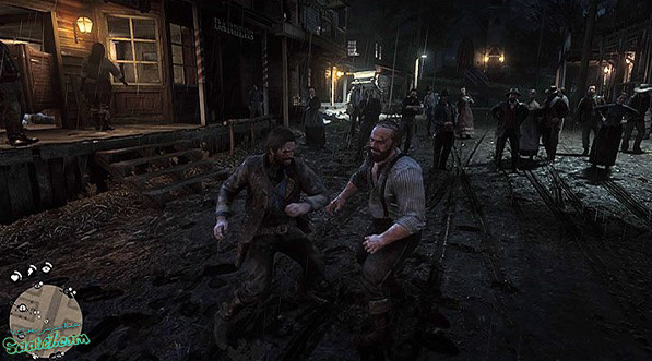 راهنمای بازی Red Dead Redemption 2 / مرحله : Americans at Rest