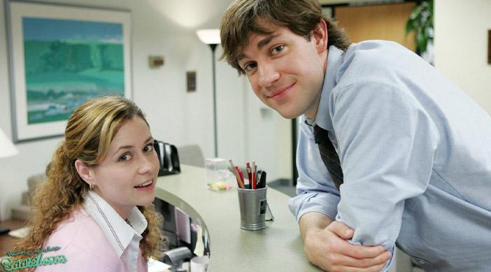 """بررسی سریال The Office / """"جیم هالپرت"""" و """"پم بیزلی"""""""