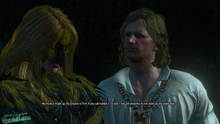 راهنمای پک Blood and Wine ویچر3/ ماموریت فرعی The Warble of a Smitten Knight