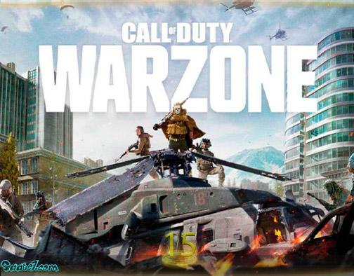 بیست بازی برتر سال 2020 / بهترین بازیهای سال 2020 / 15. Call of Duty Warzone