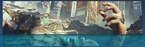بخش سوم (Act 3) بازیCyberpunk 2077