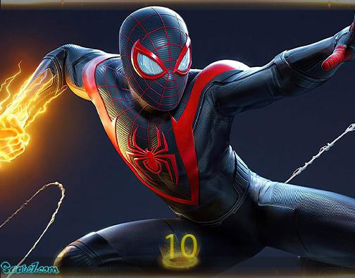 بیست بازی برتر سال 2020 / بهترین بازیهای سال 2020 / 10. Spider-Man: Miles Morales