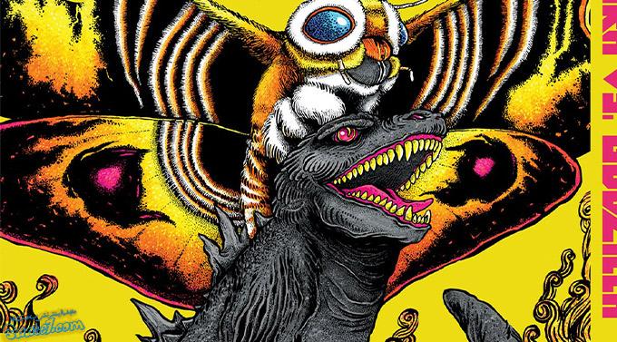 بهترین فیلم های گودزیلایی / 2. Mothra vs. Godzilla (1964)