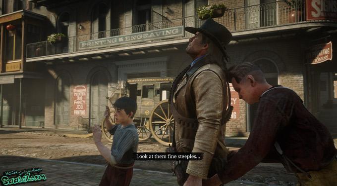 راهنمای بازی Red Dead Redemption 2 / مرحله : The Joys of Civilization
