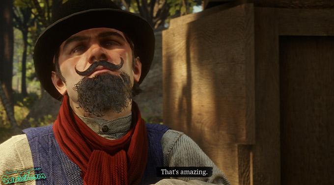 راهنمای بازی Red Dead Redemption 2 / مرحله فرعی: The Smell of the Grease Paint