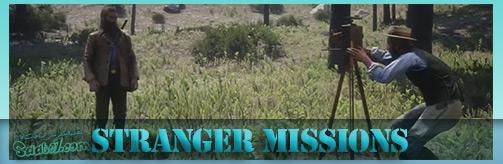 Stranger Missions (ماموریتهای فرعی) بازی Red Dead 2