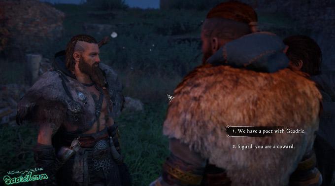 راهنمای بازی Assassins Creed Valhalla : ماموریت Blood from a Stone