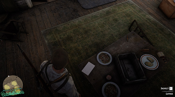 راهنمای بازی Red Dead Redemption 2 / مرحله : Dear Uncle Tacitus