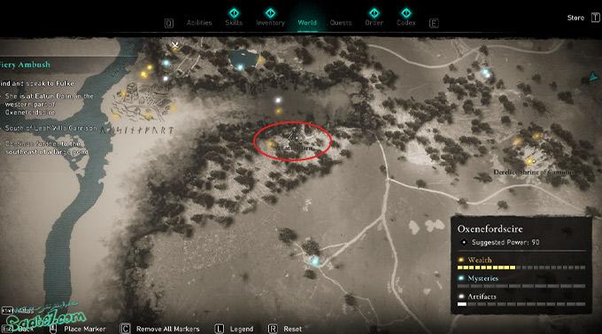 راهنمای بازی Assassins Creed Valhalla : ماموریت Fiery ambush