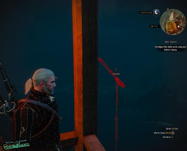 راهنمای The Witcher 3 / ماموریت فرعی High Stakes