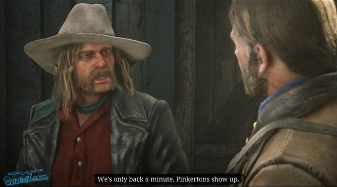 راهنمای بازی Red Dead Redemption 2 / مرحله : Just a Social Call