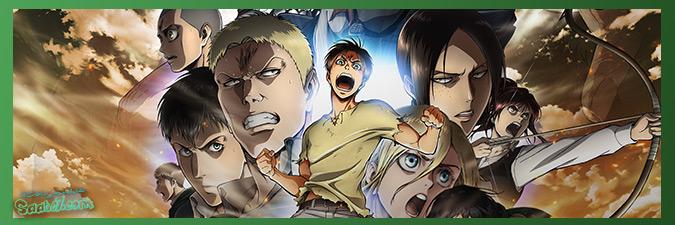 داستان انیمه Attack On Titan / بررسی مختصرِ داستان چهار فصل Attack On Titan