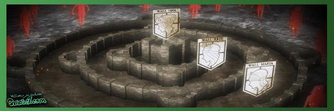 داستان انیمه Attack On Titan / تاریخچه دیوارها