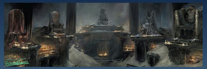 داستان بازی Dark Souls 3 / مکان Firelink Shrine