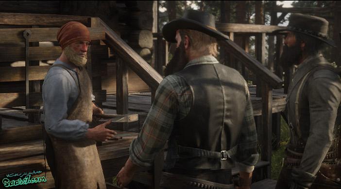 راهنمای بازی Red Dead Redemption 2 / مرحله : The Tool Box