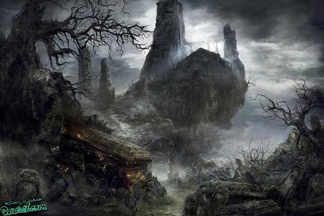 معرفی سرزمین های مرتبط با بازی Dark Souls 3 / سرزمین Cemetery of Ash and Firelink Shrine