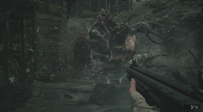 راهنمای بازی Resident Evil Village / مبارزه با mutated Moreau