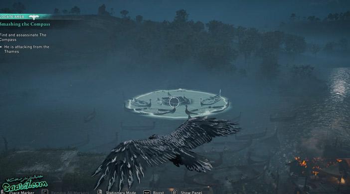 راهنمای بازی Assassins Creed Valhalla : ماموریت Smashing the Compass